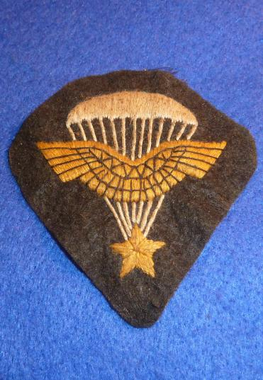 WW2 FREE FRENCH SAS PARATROOPERS INSIGNIA FORMATION SIGN