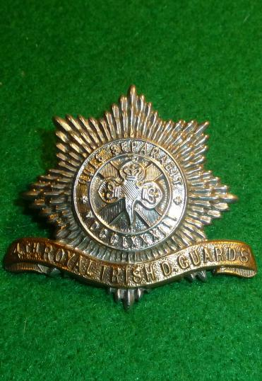 4th ROYAL IRISH DRAGOON GUARDS CAP BADGE