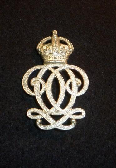 7th QUEENS OWN HUSSARS KINGS CROWN ARM / SLEEVE BADGE