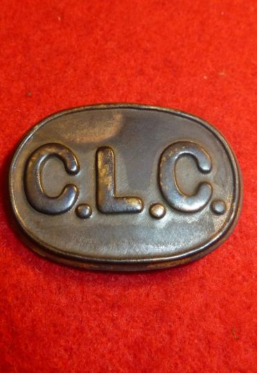 WW1 CHINESE LABOUR CORPS CAP BADGE, WORN BY THE